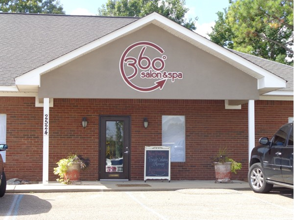 Try a day of relaxation at the 360 Salon & Spa on Bell Road