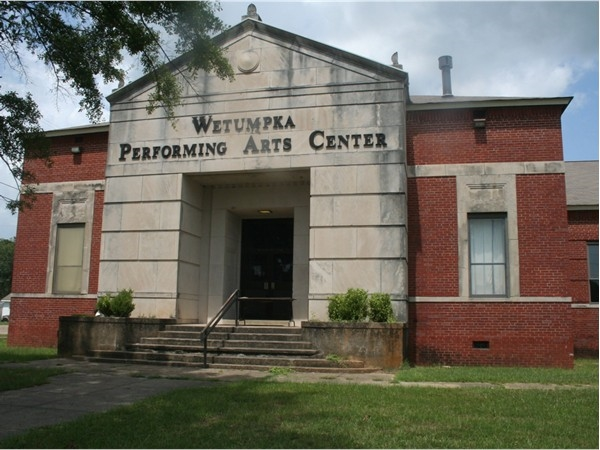 The Wetumpka Performing Arts Center hosts many high school plays and musicals