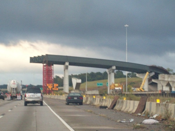 Corridor X: new Interstate I-22 nears completion