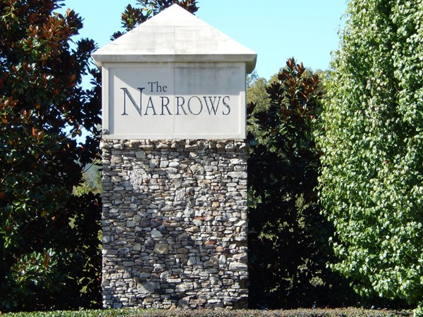 The Narrows is a swim community