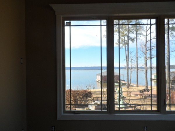 Water views from a new home located in Signal Point