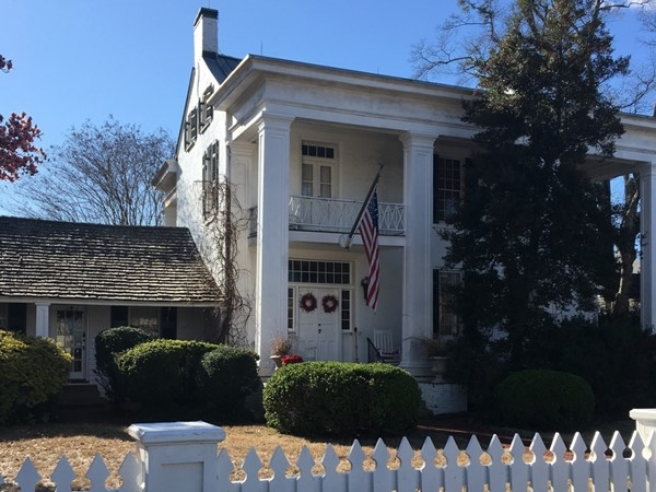 The Mildred Warner House is one of the earliest brick houses in Tuscaloosa