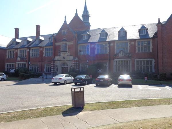 Beautiful historic buildings on Huntingdon College Campus