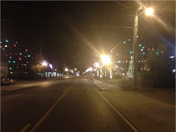 Downtown Daphne at Christmas
