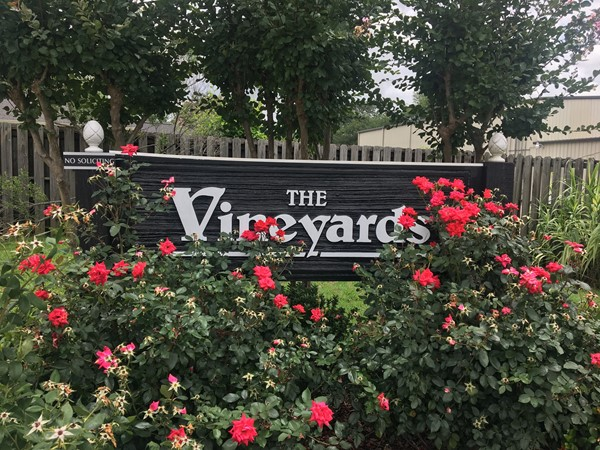 The Vineyards is one of Tuscaloosa's most convenient locations
