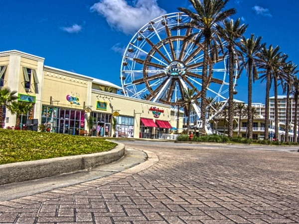 The Wharf Shopping Center, Condos, Marina, and Amphitheater in Orange Beach Al