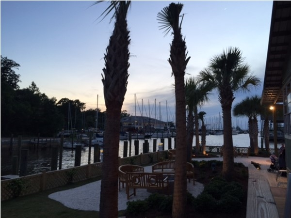 Sunset Pointe at Fly Creek Marina in Fairhope