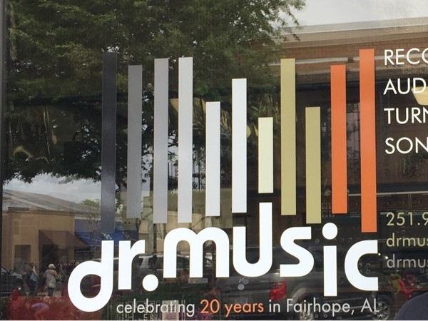 Dr. Music has new and used records. Twenty years in Fairhope