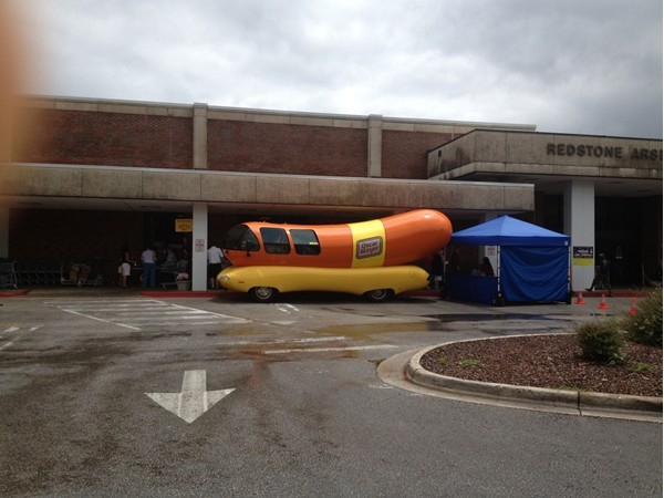 Oscar Mayer Weinermobile visiting RSA, AL