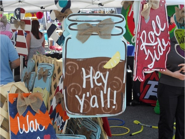 There were plenty of arts and crafts at the Alabaster City Fest