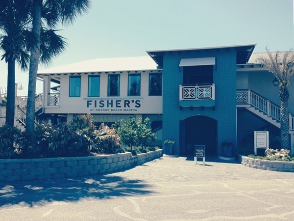 Fisher's at Orange Beach Marina- an upscale, waterfront dining experience