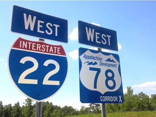 Much-anticipated Interstate 22 is complete and open to traffic