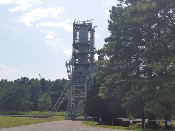 Historic landmark test site for Mercury and Jupiter rockets