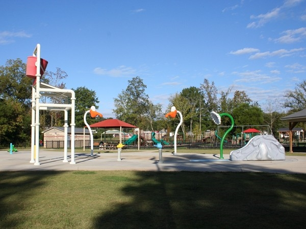 Summer fun at Springville Splash Pad located at Big Springs Park