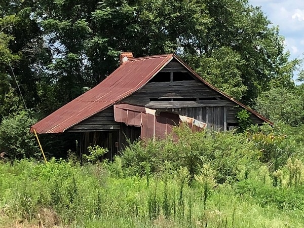 Old house in rural Coffee County