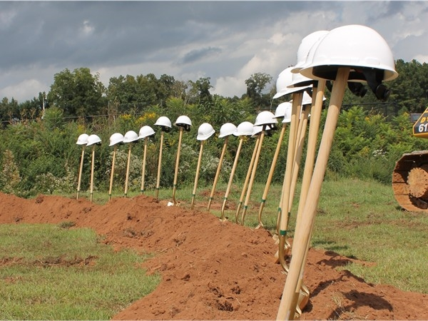 Groundbreaking Ceremony for the New Hewitt-Trussville High School Stadium