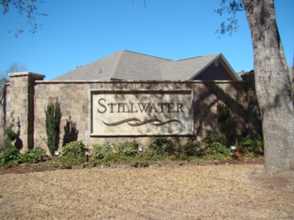 Serene Stillwater features a single entrance.