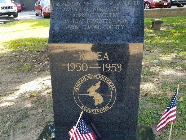 Honoring our Elmore county residents who served in the Korean War