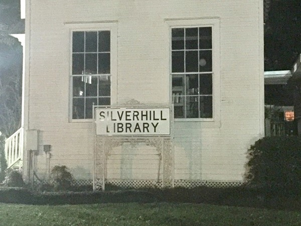 The beautiful Silverhill Library located in Silverhill