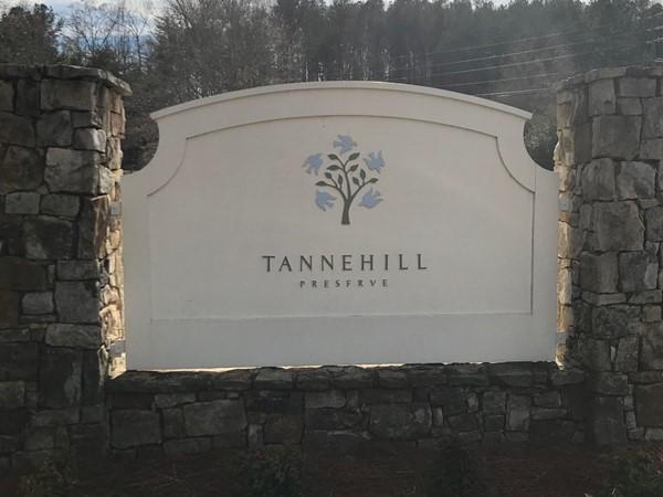 Tannehill Preserve entrance