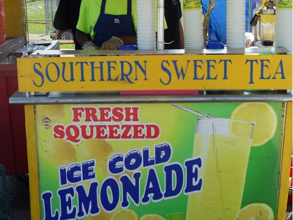 Enjoy some Southern sweet tea at the Alabaster City Fest
