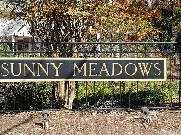 Sunny Meadows. Located in Birmingham in Shelby County