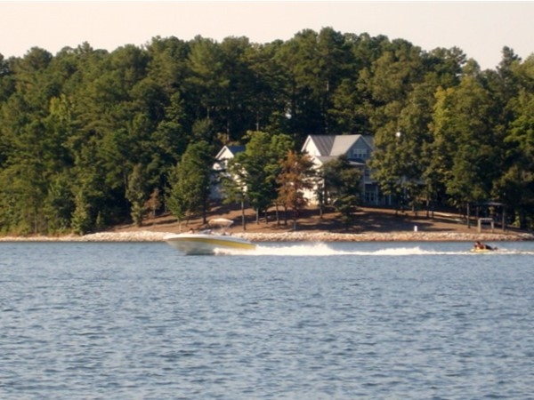 Lake Wedowee life!  Come join us and enjoy the fishing and water sports of lake life