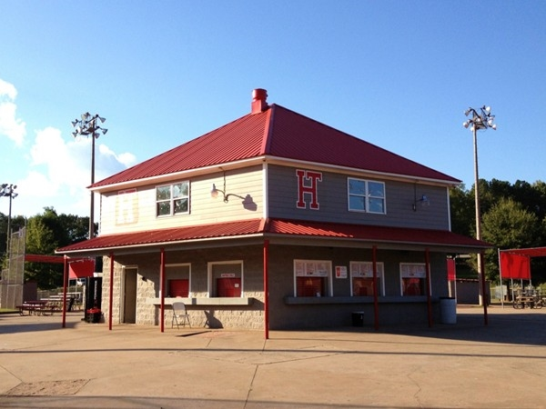 Trussville Rec Baseball Park main concession stand