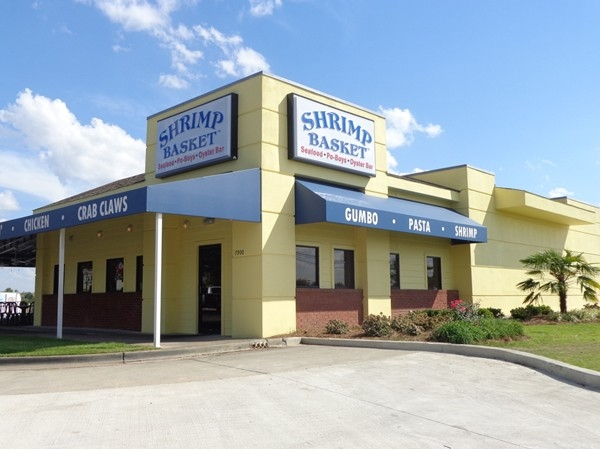 This Gulf Coast favorite has moved to our backyard! Stop by Shrimp Basket for delicious seafood