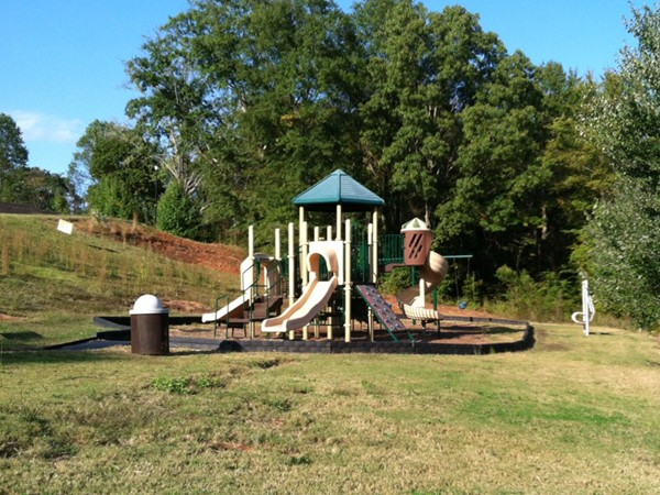 Playground area for the kids in Sterling Lakes.