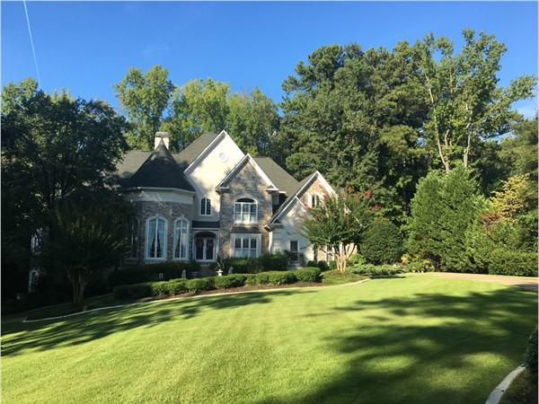 One of the luxury homes in Welligton