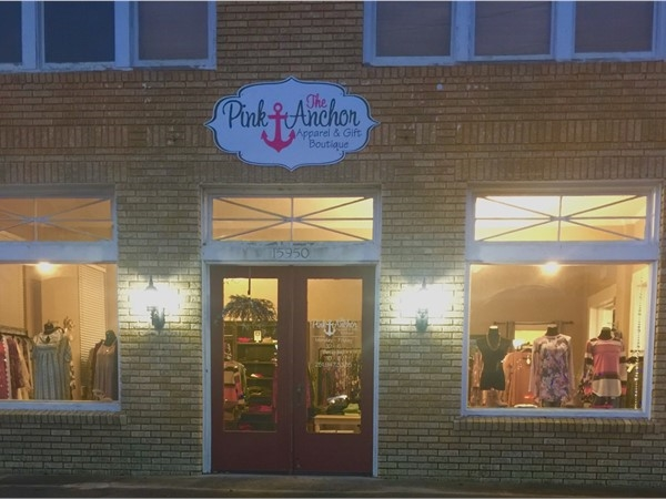 The Pink Anchor in Silverhill is a lovely boutique with apparel and gifts