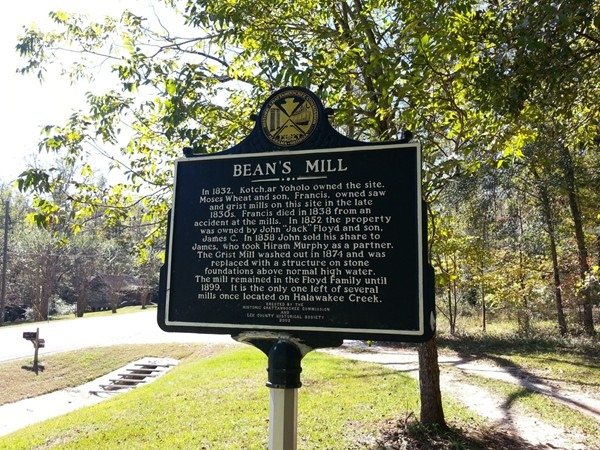 History of Bean's Mill
