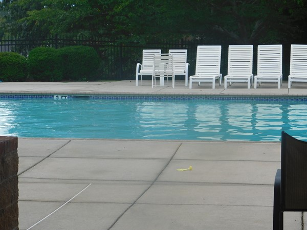 Gorgeous community pool located next to the lake