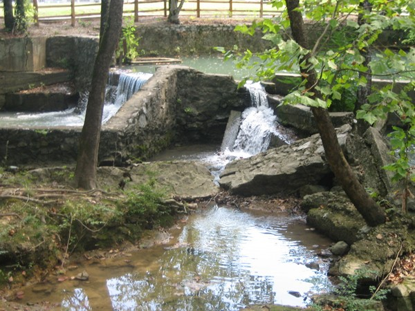 The Mill Dam at the Buck Creek Walking Trail