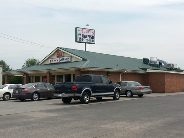 It's a Southern thing...you need to try Libby's Catfish on Quarry Road