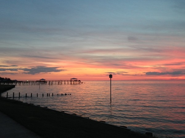 Dusk at Fairhope