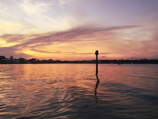 Sunday evening boat ride to enjoy the sunset