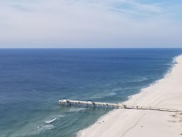 Orange Beach's Four Seasons Condo pier