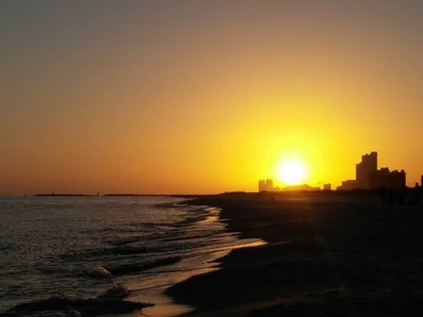 Another gorgeous sunset in Orange Beach