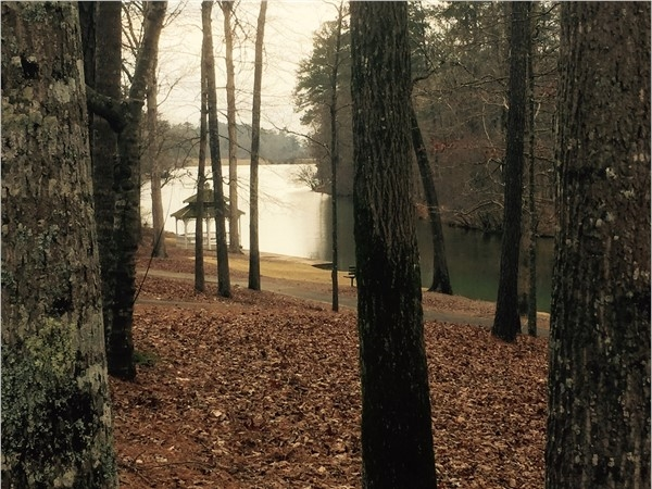 One of the many beautiful lakes in Highland Lakes