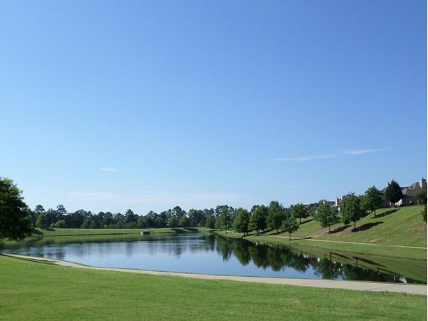 Beautiful Chelsea Park lake