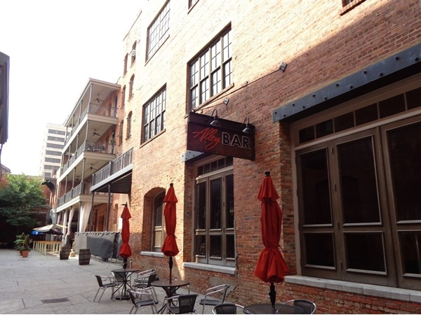 The Alley Bar in Downtown Montgomery
