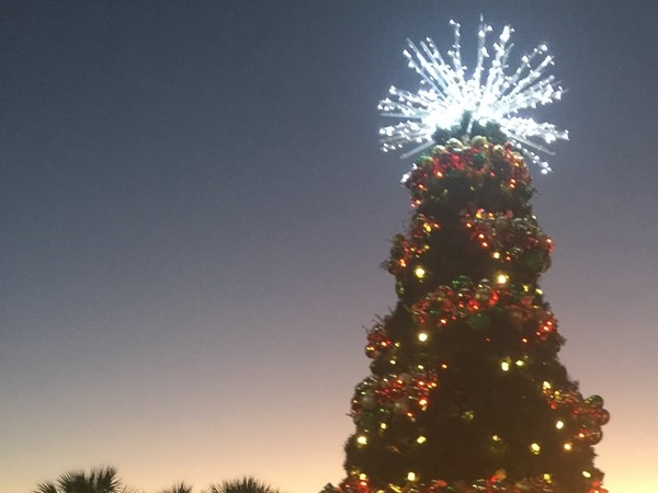 Christmas is in full swing at the Tanger Outlet in Foley
