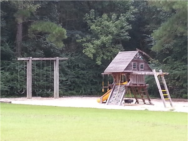 Private playground in Homestead neighborhood