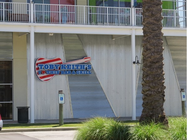 Tuesday night line dancing at Toby Keith's Bar & Grill?