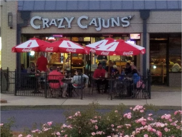 Crazy Cajuns'... it's what's for dinner... Crawfish...best Cajun cuisine in Shelby County