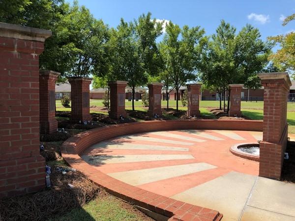 Memorial for tornado victims, March 1, 2007