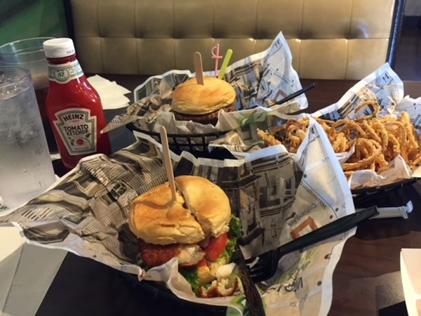 Wahlburgers Restaraunt at OWA in Foley