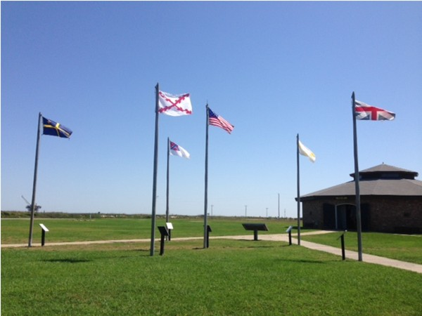 Fort Morgan Museum has interesting displays of items from The War of 1812 through WWII